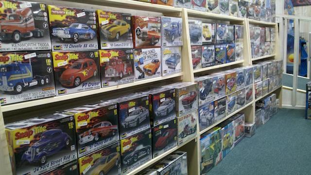 Plastic Model Kits | Grandma's Toy Box – Eagle Craft & Hobby
