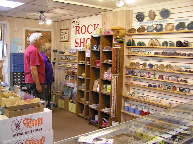 The Rock Shop in Eagle River, WI